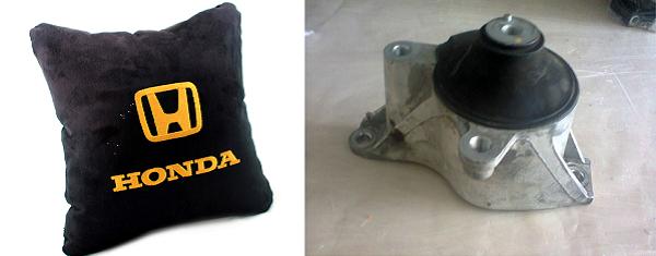 Вибрации двигателя Honda Civic могут быть связаны с износом подушки