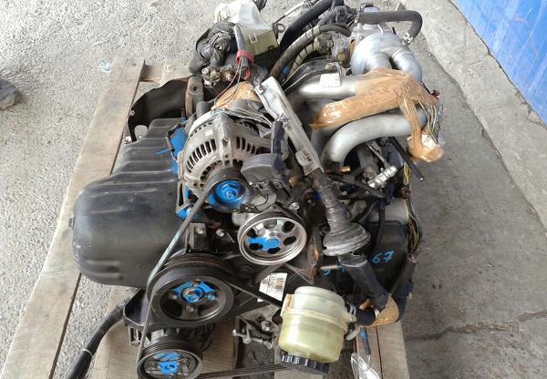 Контрактные двигатели из Японии обычно поставляются с навесным оборудованием
